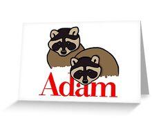 Adam Greeting Card