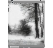 Snowy Fantasy (Ink Wash) iPad Case/Skin