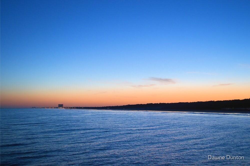 Sunset At The Pier by ©Dawne M. Dunton