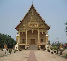 Vientiane, Laos by Niki Clay