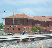 Train Depot Dodge City Kansas by icesrun