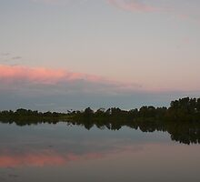 Pastel Sky over the Manning by louisegreen