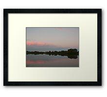 Pastel Sky over the Manning Framed Print