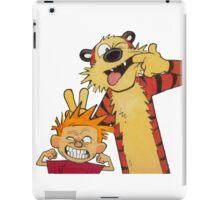calvin and hobbes yucks iPad Case/Skin