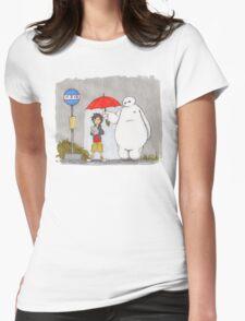 My Robot - My Best Friend Womens Fitted T-Shirt