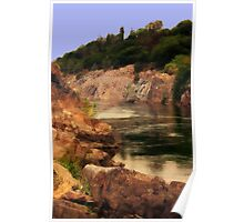 Kayaking the American River Poster
