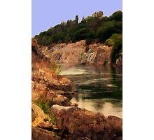 Kayaking the American River Photographic Print