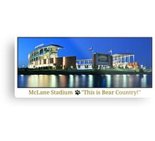 This is Bear Country Metal Print