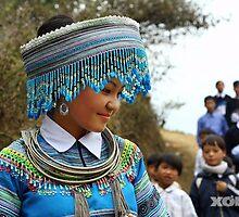 Thieu nu Mong xanh by kynhong