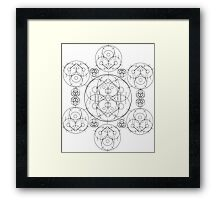 Crop Circle 1 (Variant 3) Framed Print