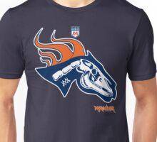 Denver Football's horse:  Pestilence Unisex T-Shirt
