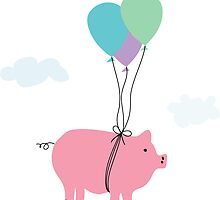 When Pigs Can Fly by DoucetteDesigns