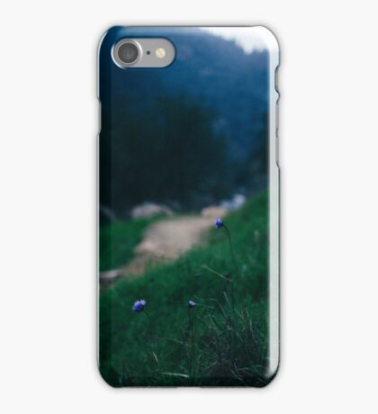 flowers on the trail. iPhone Case/Skin