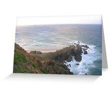 Byron Bay Hilltop 2 Greeting Card