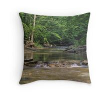 Clifty Creek #5 Throw Pillow