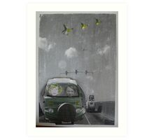 Travellers Art Print
