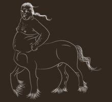The Centaur - dark tee by Sarah Caudle