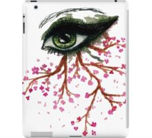 Sketch of an Eye iPad Case/Skin