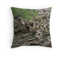 Honeycomb Rock #1 Throw Pillow