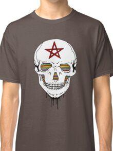 Trippy Skull Classic T-Shirt