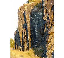 Red Rocks at Nipigon Bay Photographic Print