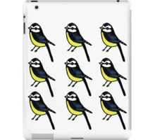 blue tits iPad Case/Skin