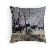 Only In Winter Throw Pillow