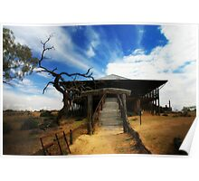 Shearing Shed Poster