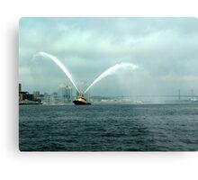 Fireboat-Halifax Metal Print