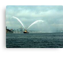 Fireboat-Halifax Canvas Print