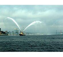 Fireboat-Halifax Photographic Print