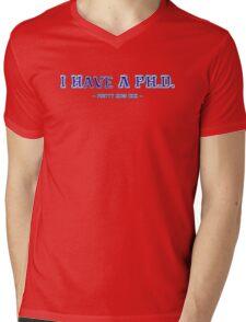 I have a PH.D. Mens V-Neck T-Shirt