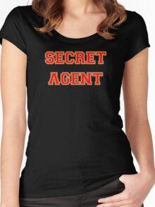 Secret Agent Women's Fitted Scoop T-Shirt