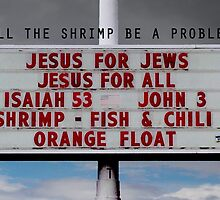 WILL THE SHRIMP BE A PROBLEM/ by Thomas Barker-Detwiler