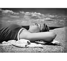 Seaside Siesta Photographic Print