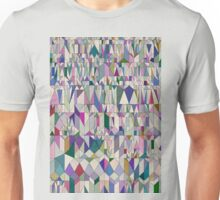 Architecture in Pink Unisex T-Shirt