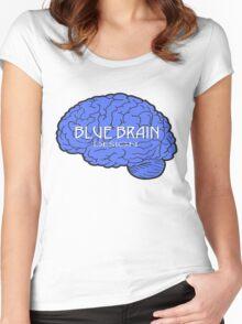 Blue Brain Women's Fitted Scoop T-Shirt