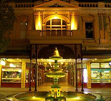 Rundle Mall Fountain, Adelaide. by John Mitchell