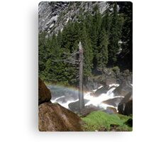 Once upon a Rainbow Canvas Print