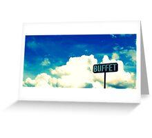 Buffet Greeting Card