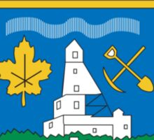 Yellowknife Coat of Arms Sticker