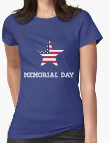 Memorial Day Womens Fitted T-Shirt