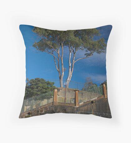 Australian Gum Tree Throw Pillow
