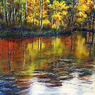 Turkey Creek in the Fall by Randy Sprout