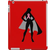Pink Warrior in Cape iPad Case/Skin