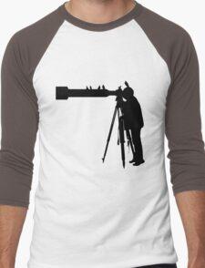 'Birdo'... No lens too long... Men's Baseball ¾ T-Shirt
