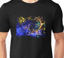 Fire and Ice Abstract Unisex T-Shirt