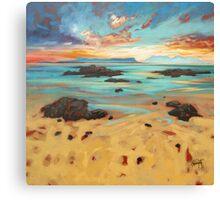 Arisaig Shore Canvas Print
