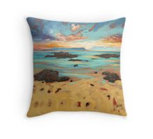Arisaig Shore Throw Pillow