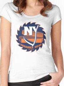 Deadly NY Hockey Women's Fitted Scoop T-Shirt